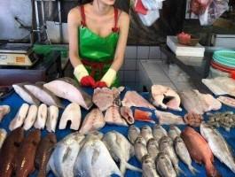 생선가게 아줌마