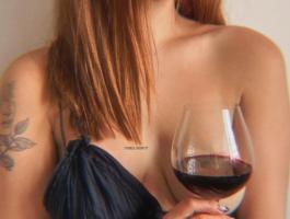 와인 한 잔